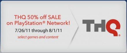 50% de descuento en varios títulos de THQ en la PSN