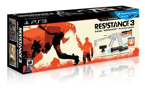 Presentamos Resistance 3 Edición DOOMSDAY América Latina.