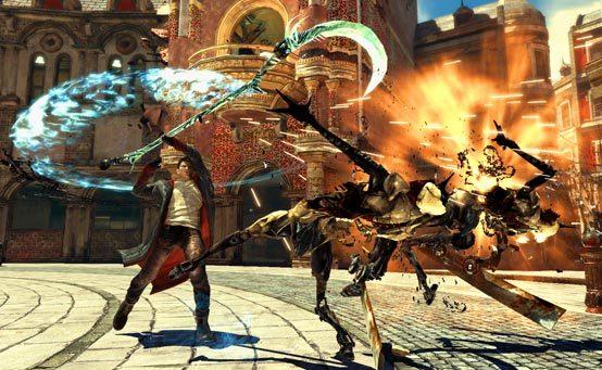 Devil May Cry: Los ataques aéreos de Dante.