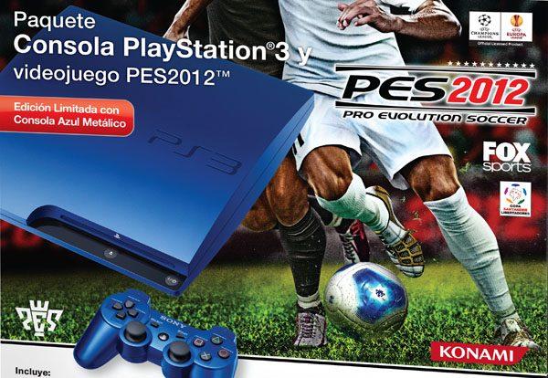 Presentamos los Bundles de PlayStation 3 Pro Evolution Soccer 2012