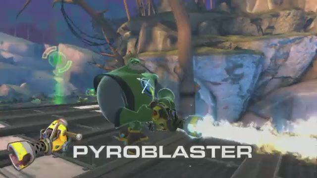 Las armas de Ratchet & Clank: All 4 One