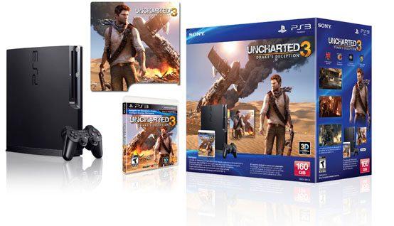 Bundle de PS3 con UNCHARTED 3 para Latinoamérica
