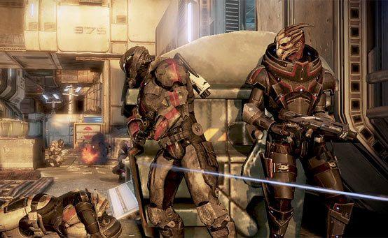 Modo Cooperativo de Mass Effect 3