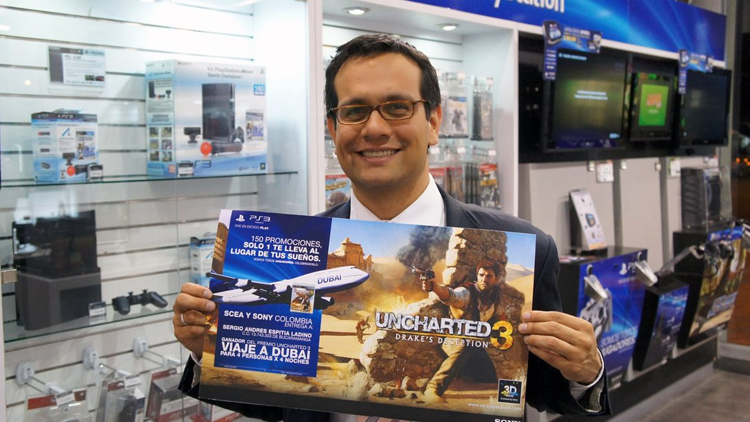 Ya tenemos ganador del viaje a Dubai con UNCHARTED 3