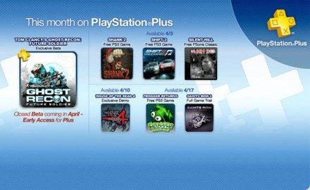 Ofertas de abril para los suscriptores de PlayStation Plus