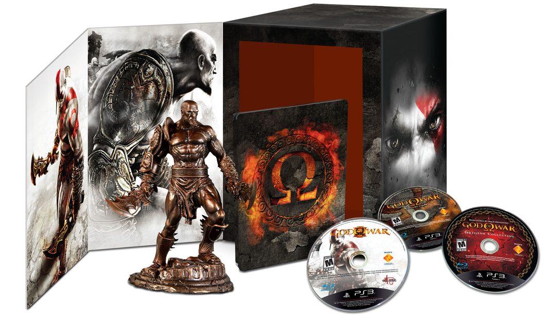 E3 2012:  Presentamos God of War: Omega Collection