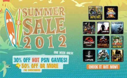 Las ofertas de verano en la PSN comienzan este martes.