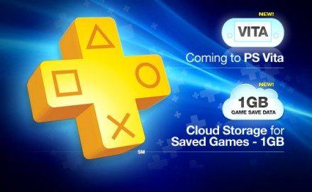 PlayStation Plus en camino al PS Vita, y ahora con más espacio para salvar en línea.