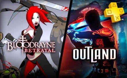 Actualización de PlayStation Plus: Outlands y Bloodrayne: Betrayal  se unen a la colección.