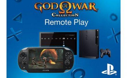 Juega  God of War, Ico y Shadow of the Colossus en tu PS Vita gracias al Remote Play