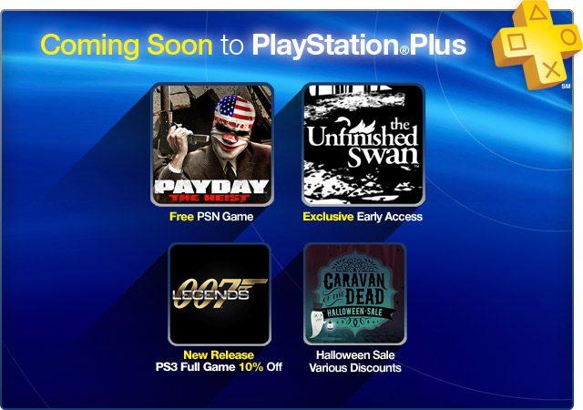 Actualización de PlayStation Plus: PAYDAY The Heist, gratis para los suscriptores