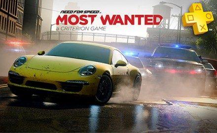 Actualización de PlayStation Plus: descuento en Need for Speed: Most Wanted.