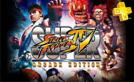 PlayStation Plus: Super Street Fighter IV Arcade Edition gratis.