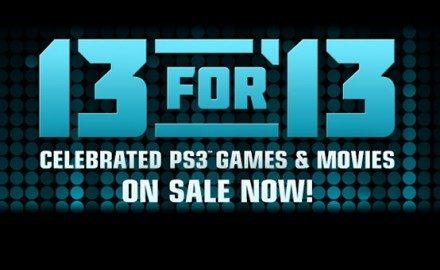 Las ofertas de 13 para 13 comienzan mañana, juegos a un precio increíble.