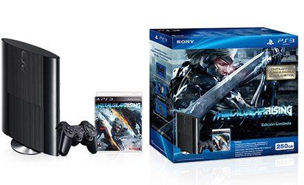 Presentamos el paquete de PS3 con Metal Gear Rising: Revengeance
