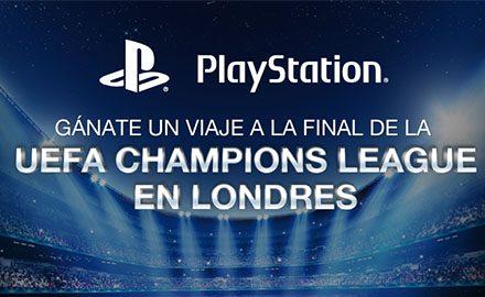 PlayStation  Latinoamérica te lleva a la final de la UEFA Champions League.