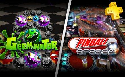 Actualización de PlayStation Plus, Germinator y Pinball Arcade gratis