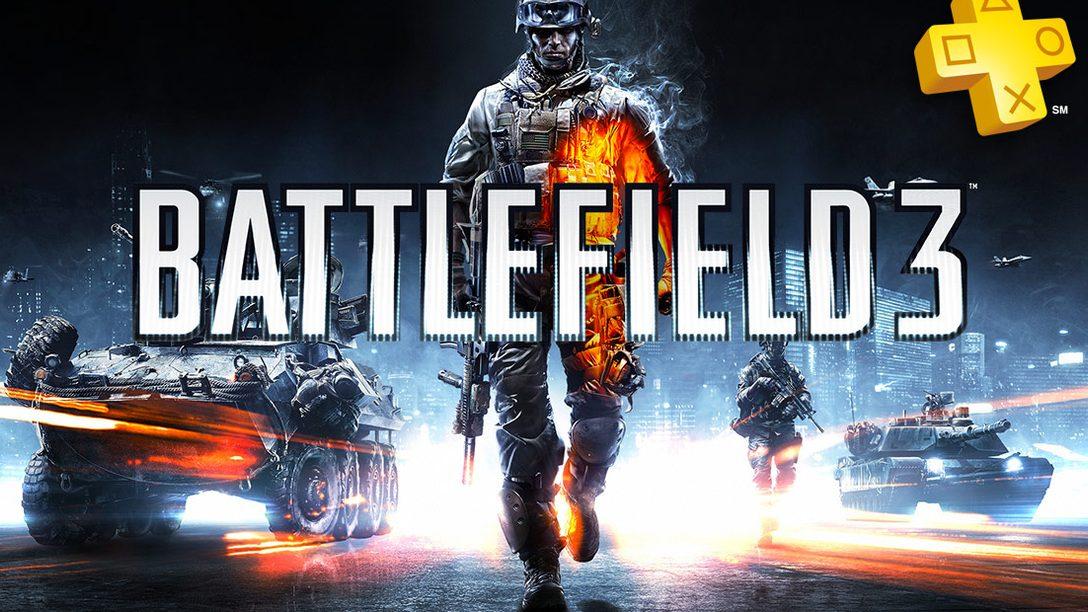 PlayStation Plus en julio, Battlefield 3 gratis y grandes descuentos