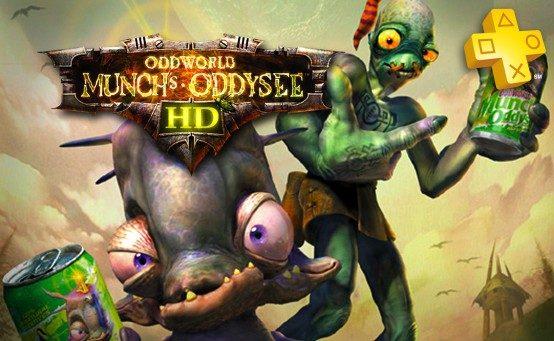 Actualización de PlayStation Plus: Oddworld: Munch's Oddysee HD gratis
