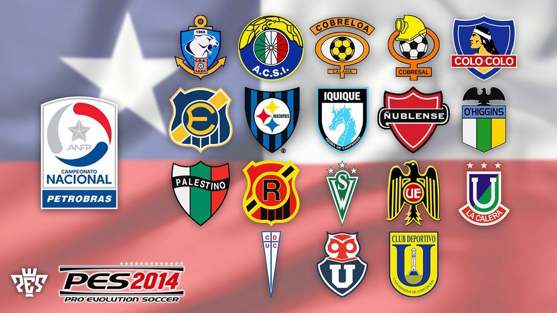 Chile juega PES 2014 con la Primera División Chilena