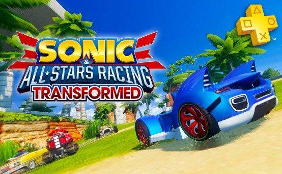 PS Plus: Sonic & All-Stars Racing Transformed gratis para los suscriptores