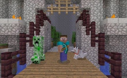 Minecraft llega el 17 de diciembre al PS3