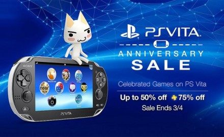 Celebra el segundo aniversario del PS Vita con ofertas