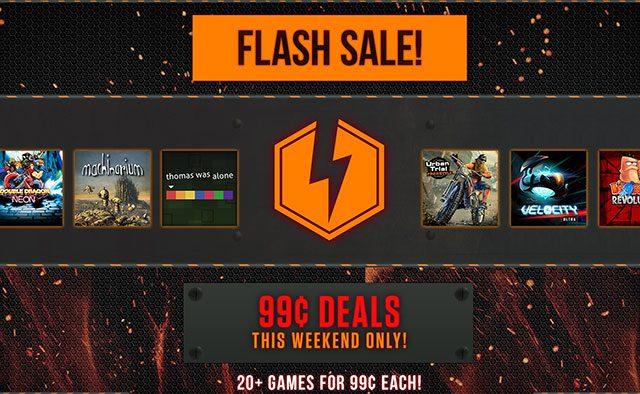Oferta relámpago esta semana en la PSN, juegos a 99 centavos