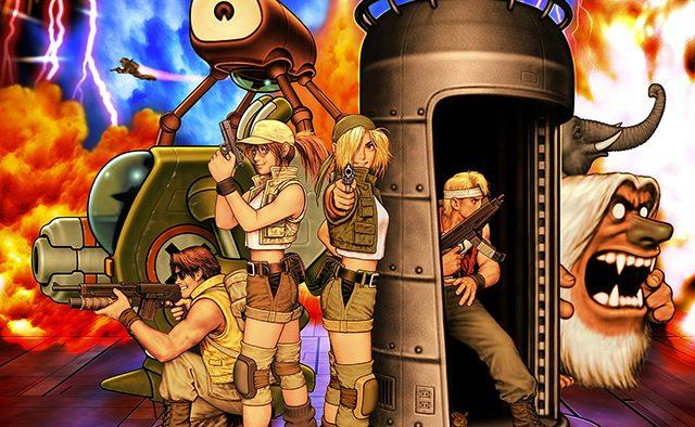Metal Slug 3 en camino al  PS4, PS3, y PS Vita