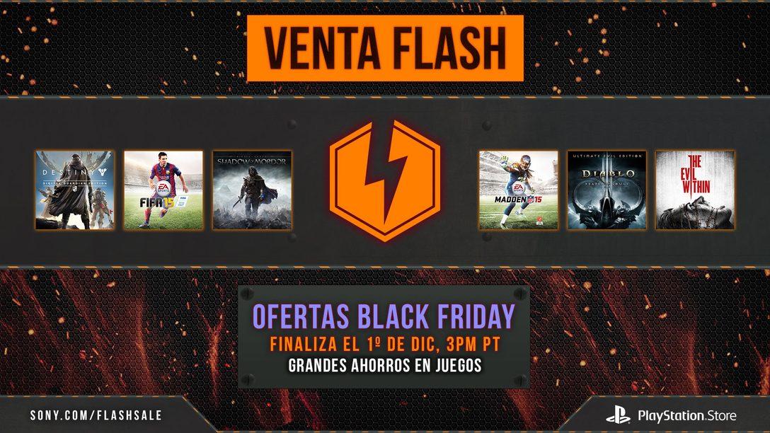 Ofertas de Black Friday este fin de semana en la PSN