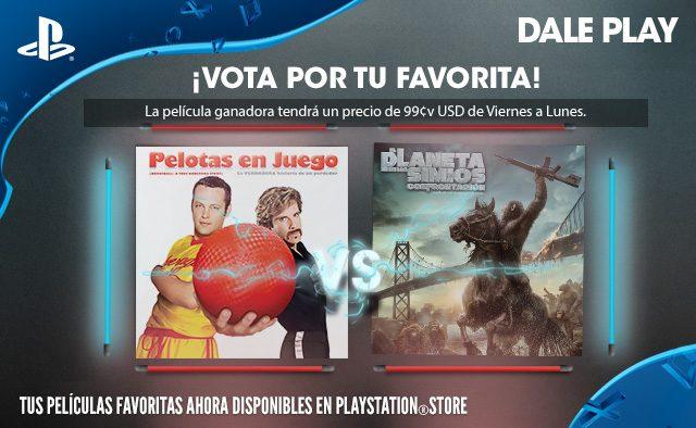 Vota por tu favorita: Pelotas en Juego vs. El Planeta de los Simios: Confrontación