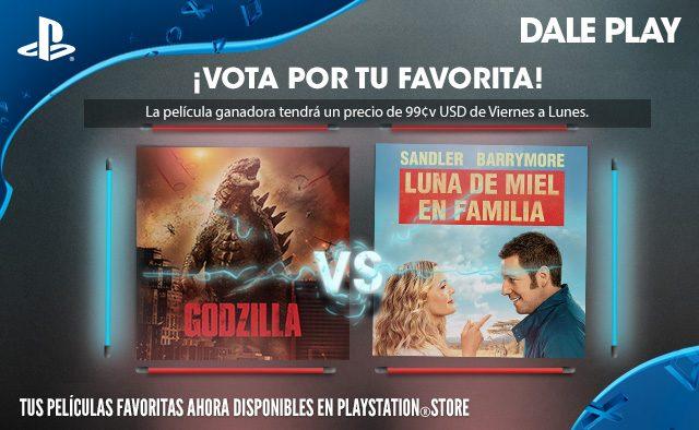 Vota por tu favorita: Godzilla X Luna de miel en familia