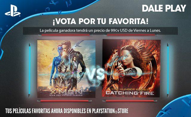 Vota por tu favorita: X-Men: Días del futuro pasado vs. Los juegos del hambre: En llamas