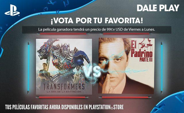 Vota por tu favorita: Transformers: La era de la extinción contra El Padrino III (Encuesta Cerrada)