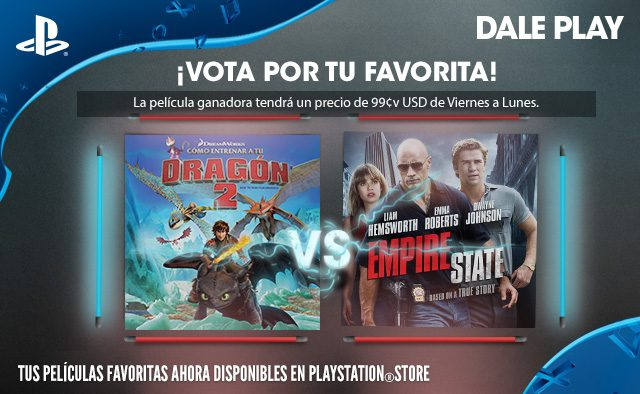 Vota por tu favorita: Cómo Entrenar a tu Dragón 2 vs. Empire State