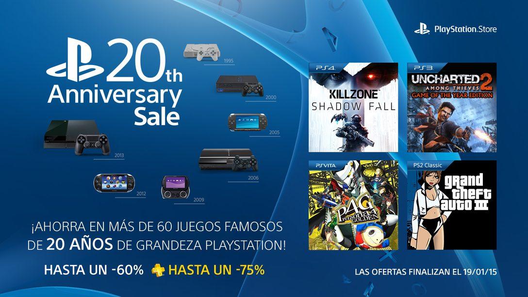 Ofertas por el aniversario de PlayStation