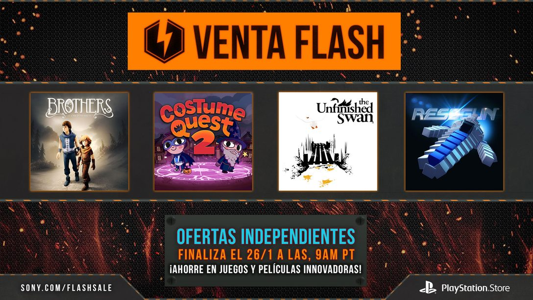 Venta Flash Empieza Ahora: Más de 60 Indie Games con descuento