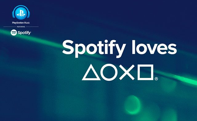 PlayStation, conoce Spotify