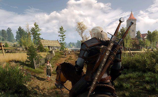 Participación activa en The Witcher 3: Wild Hunt en PS4