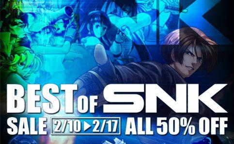 """La Oferta """"Best of SNK"""" para PS3 ya está disponible en PlayStation Store"""