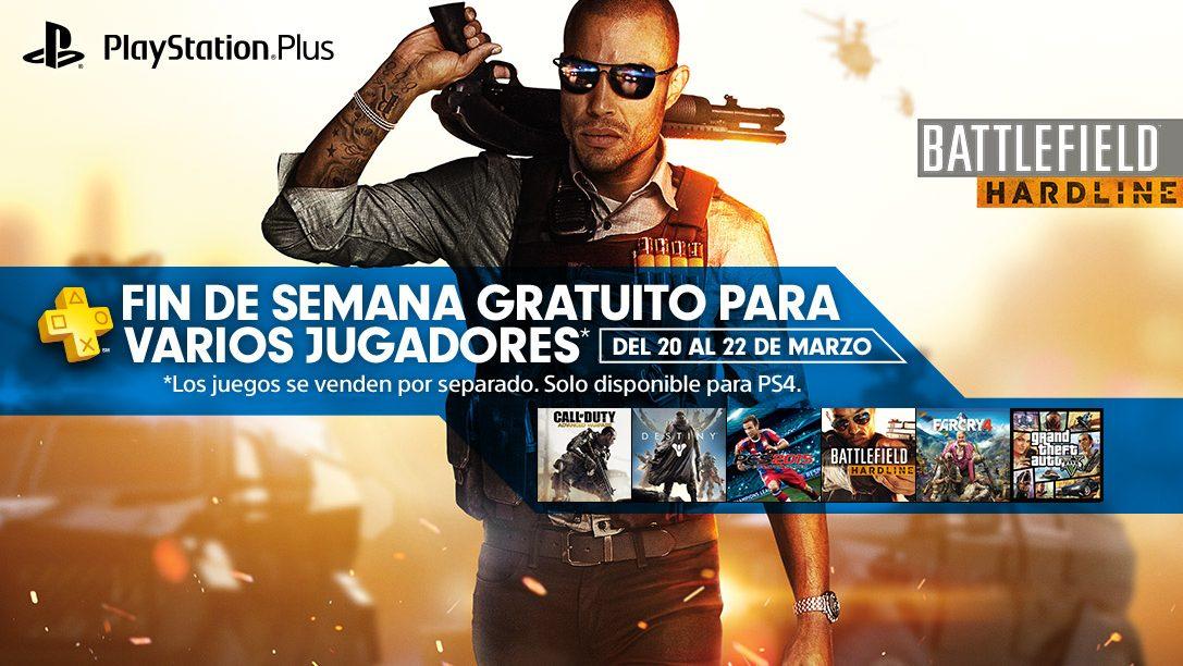 Modo Multijugador online gratuito este fin de semana para PS4