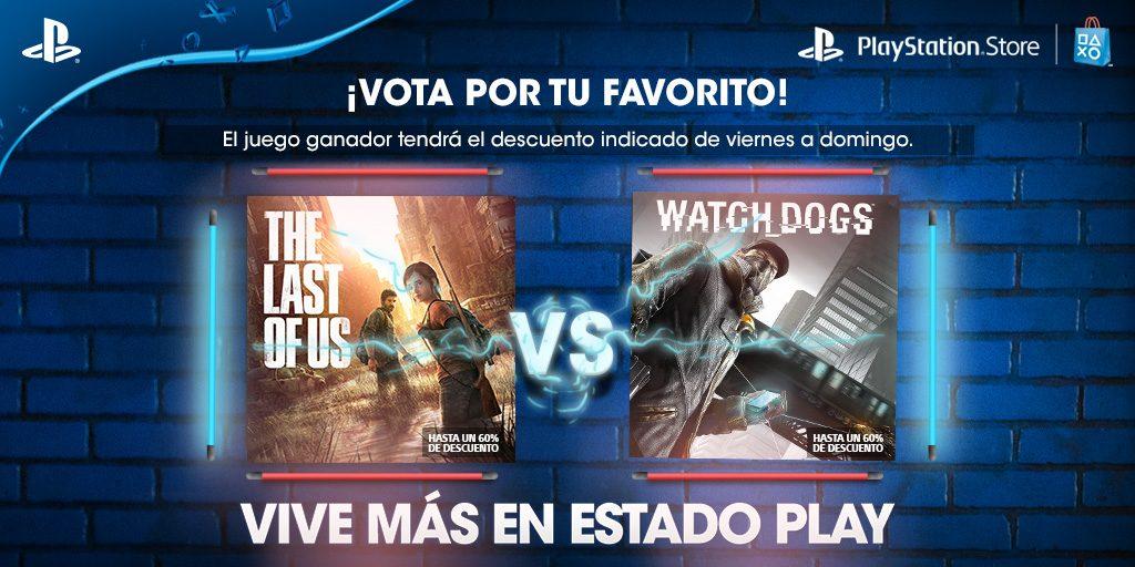 Vota Por Tu Favorito: The Last of Us o Watch Dogs