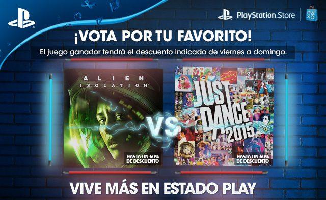 Vota Por Tu Favorito: Alien: Isolation o Just Dance 2015