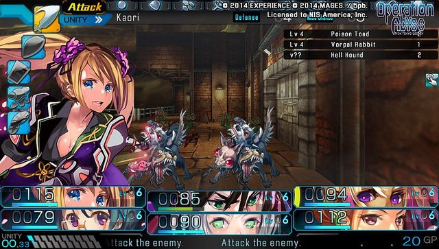 Operation Abyss Llega a PS Vita el 9 de junio, Nuevos Detalles
