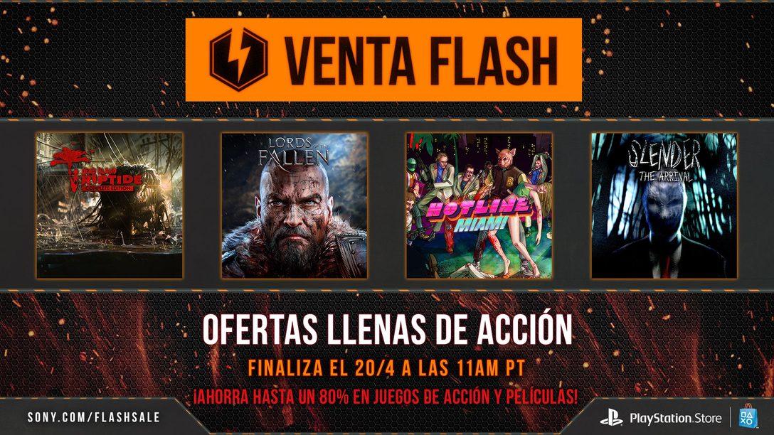 Venta Flash Ahora en LATAM: Las Mejores Ofertas en Juegos de Acción