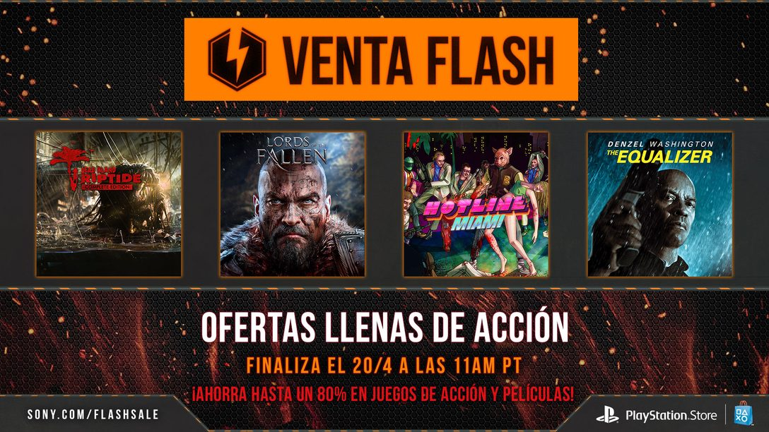 Venta Flash Exclusiva para México: Ofertas en Acción, Juegos y Películas