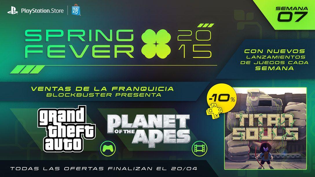 Spring Fever Séptima Semana: Titan Souls a la Venta Hoy y Ofertas de GTA Games