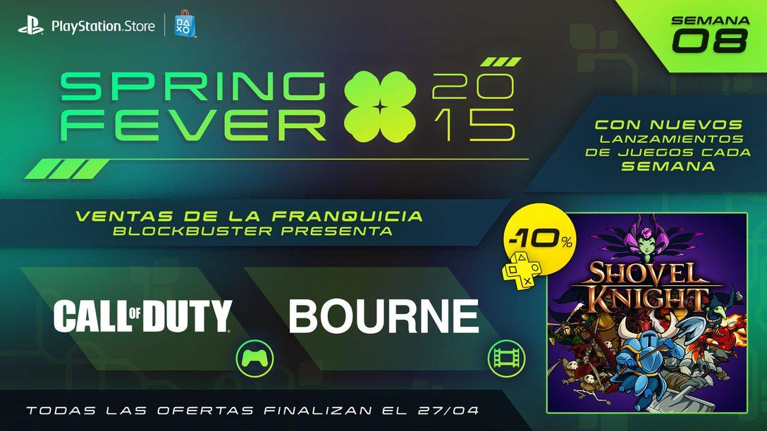 Spring Fever Octava Semana: Shovel Knight Disponible Hoy, Juegos Call of Duty a la Venta