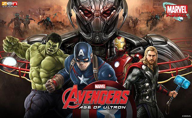 Anunciando Avengers: Age of Ultron Pinball