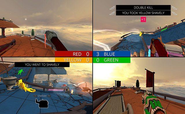 Screencheat, un Shooter en Segunda-Persona Próximamente en PS4